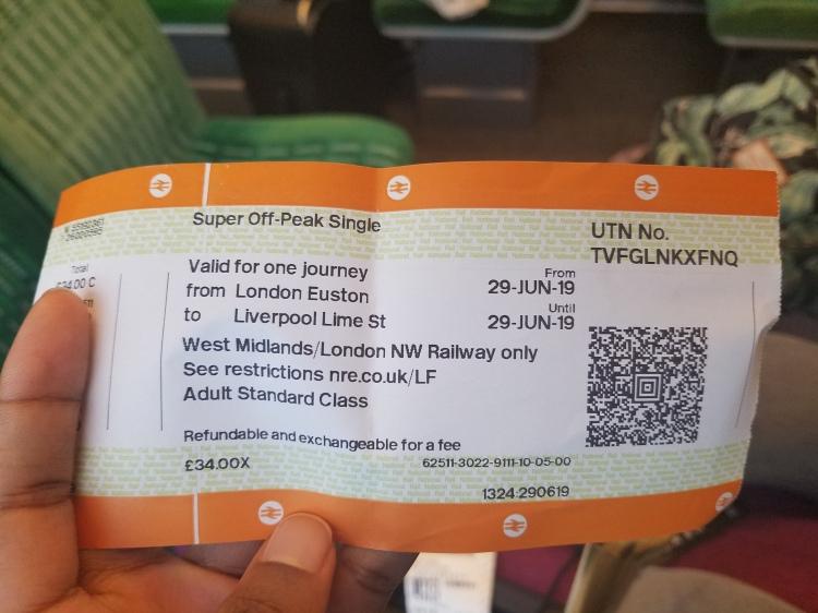 West Midlands Train Ticket