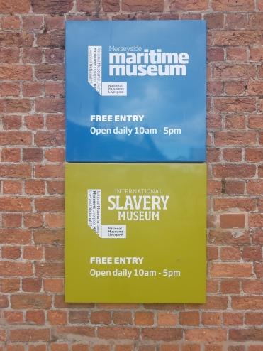 Liverpool Maritime Museum and the International Slavery Museum Signs