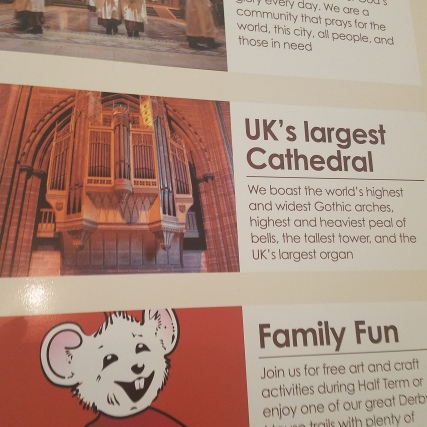 Liverpool Cathedral Sign