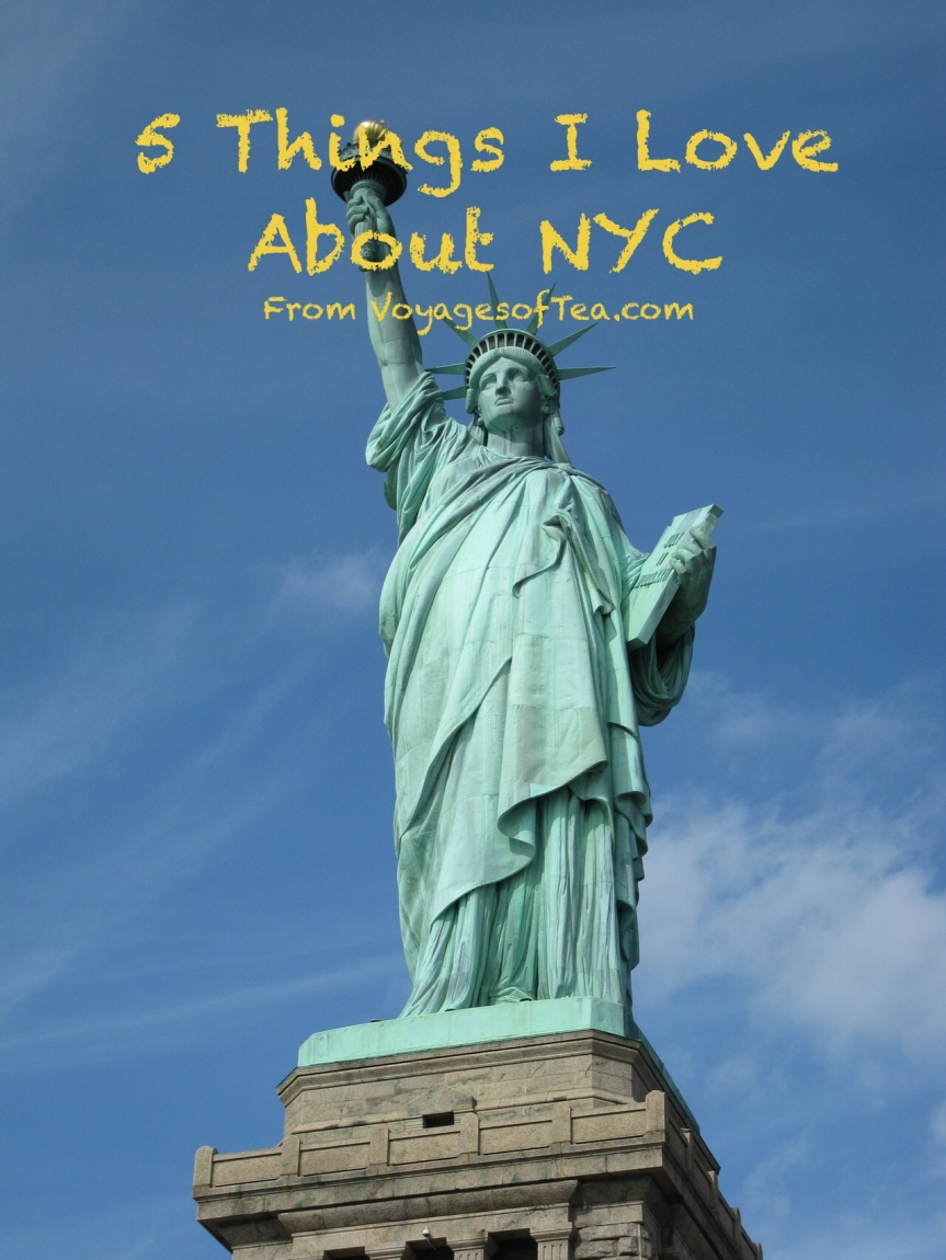 5 Things I Love about New YorkCity